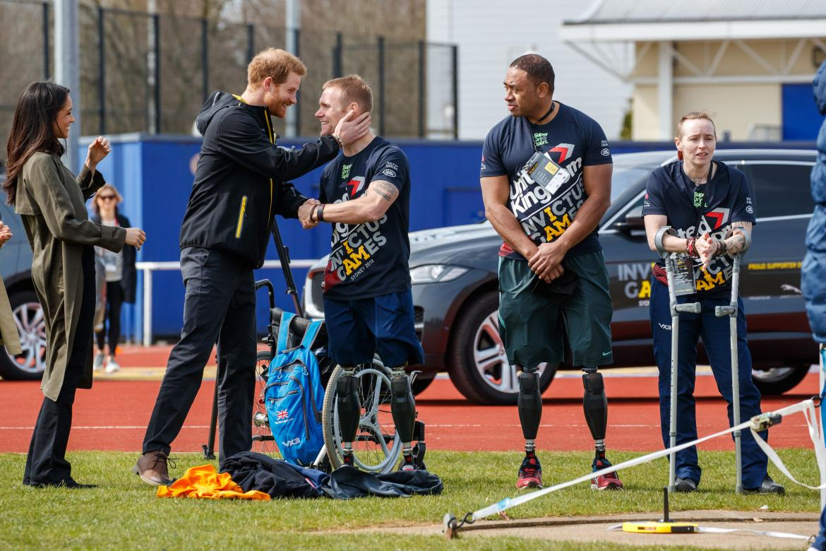 Prince Harry And Ms Meghan Markle Attend Uk Team Trials For The